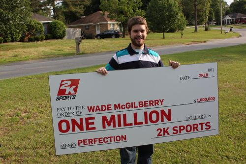 Wade McGilberry MLB 2K10 Million Dollar Winner