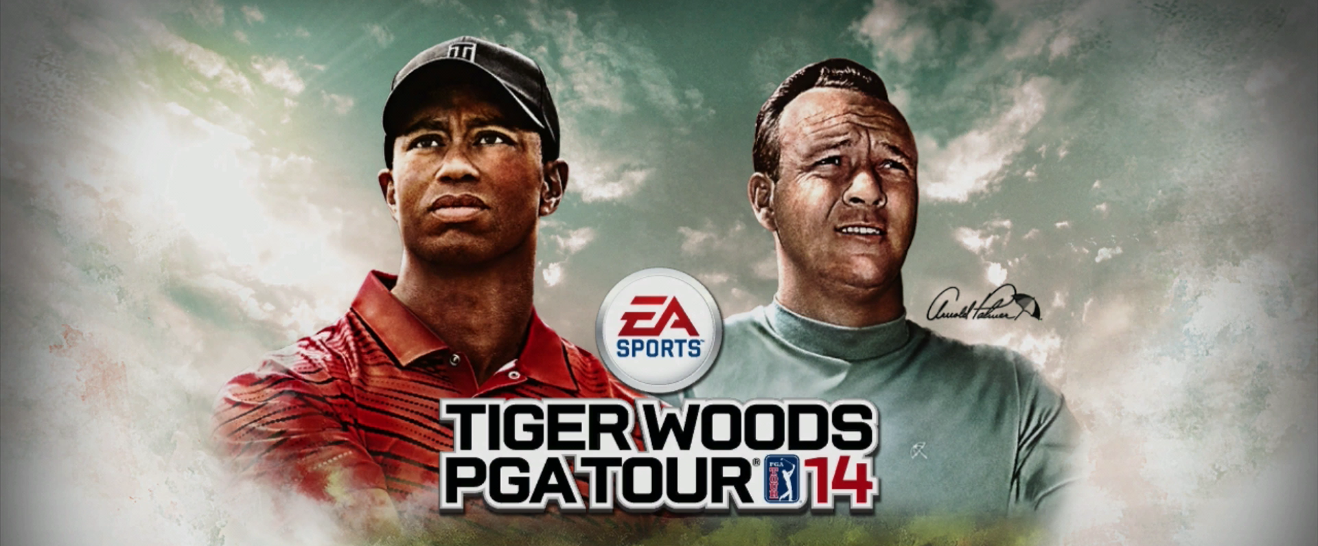 Tiger Woods PGA Tour 14 Start Screen