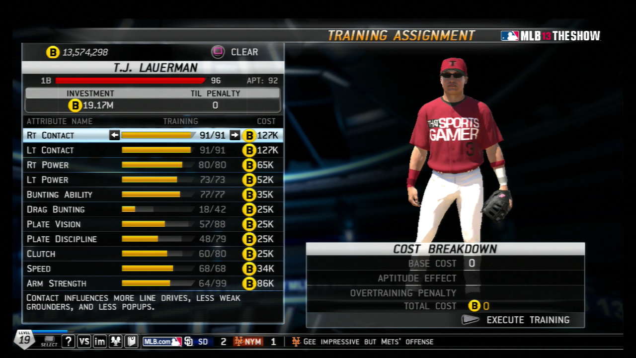 MLB 13 DD After