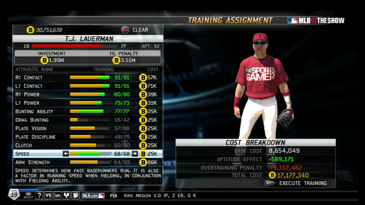 MLB 13 DD Before
