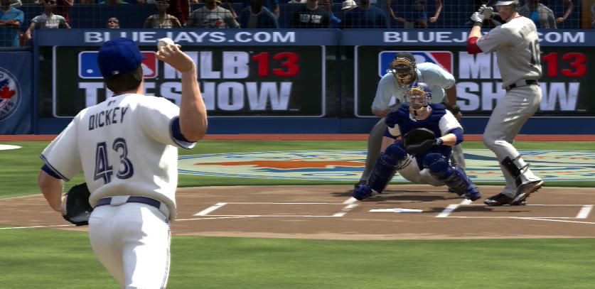 MLB 13 The Show Dickey