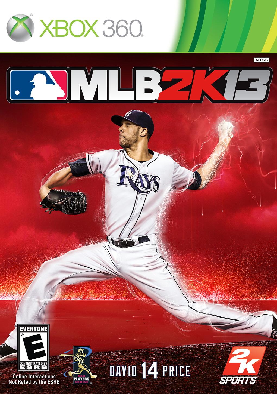 MLB 2K13 Xbox 360 Cover