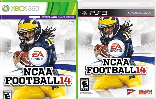 NCAA Football 14 Dual Cover