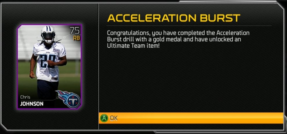 Acceleration Burst