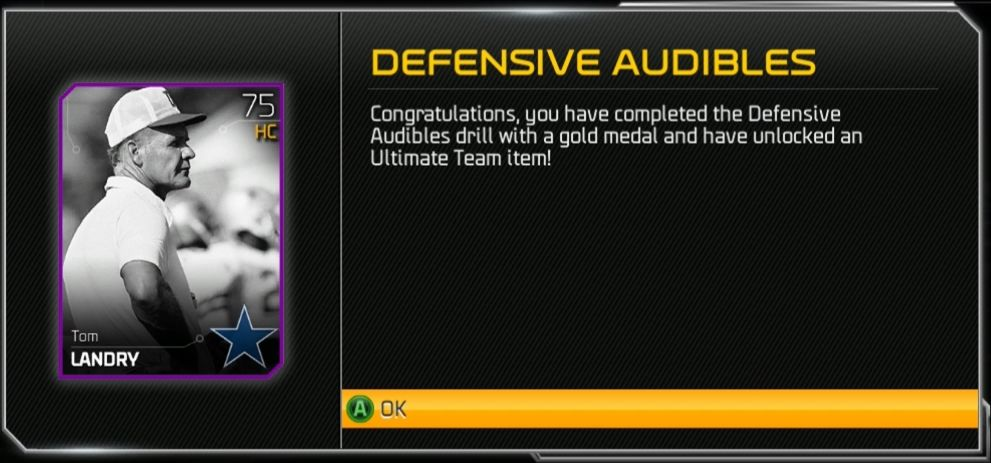Defensive Audibles