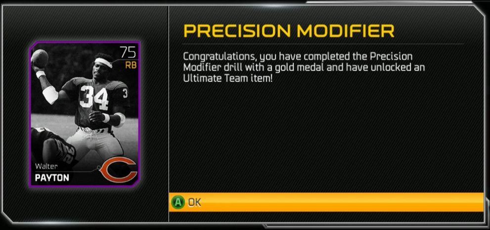 Precision Modifier